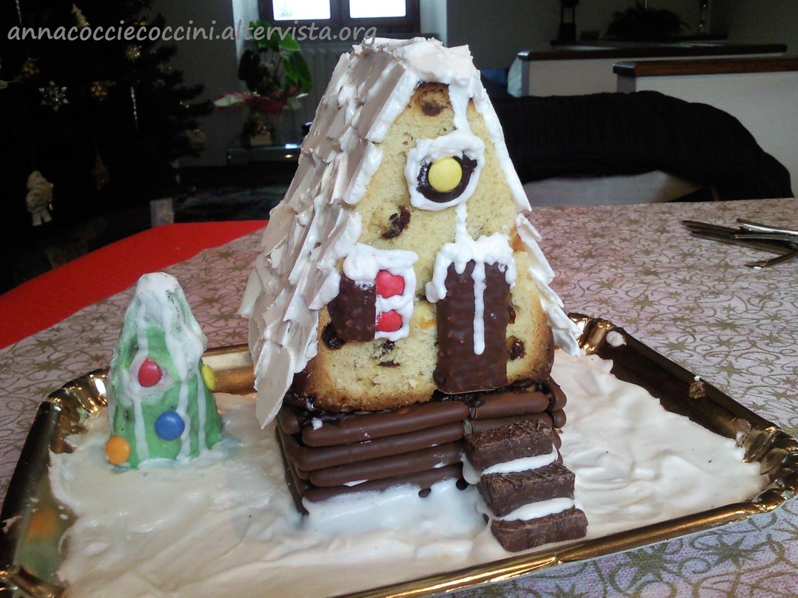 Casetta Di Natale Di Cioccolato : Casetta di natale